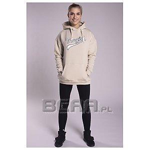 Trec Wear Bluza Hoodie TrecGirl Oversize 001 Beige 1/4