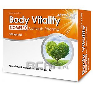Activlab Pharma Body Vitality Complex 30kaps. 1/1