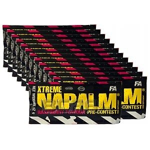 Fitness Authority Xtreme Napalm Pre-Contest New! 50 x 12g 1/1