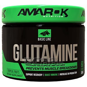 Amarok Nutrition Basic Glutamine 300g 1/2