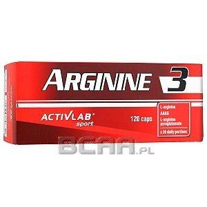 Activlab Arginine 3 120kaps. 1/1