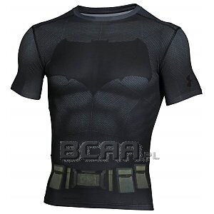 Under Armour Rashguard Męski Batman Suit SS 1273690-040 ciemnoszary 1/6