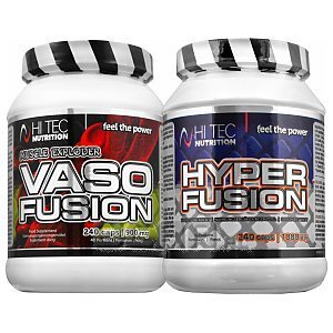 Hi Tec Vaso Fusion + Hyperfusion 240kaps. +240kaps. [promocja] 1/1