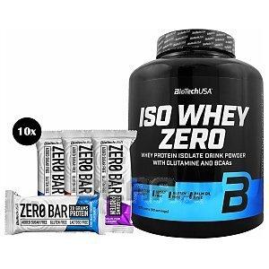 BioTech USA Iso Whey Zero + 10x Zero Bar 2270g + 10x50g 1/1