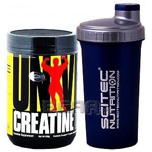 Universal Creatine Monohydrate Micronized 500g + Shaker GRATIS! 1/1