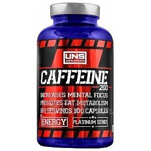UNS Caffeine 200 100kaps. 1/3