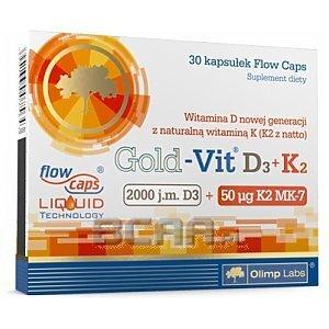 Olimp Gold-Vit D3+K2 30kaps. [promocja] 1/1
