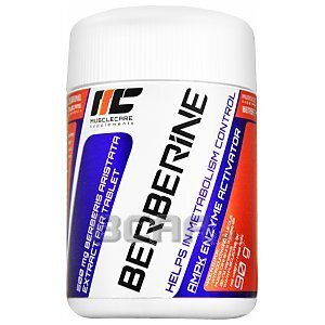 Muscle Care Berberine 500mg 90tab. 1/2