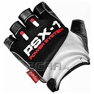Power System Rękawice Treningowe PSX-1 (PS-2680) biało-czarno-czerwone 1/4