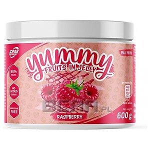 6Pak Nutrition Yummy Fruits in Jelly 600g Raspberry 1/1