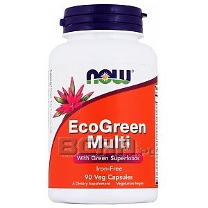 Now Foods EcoGreen Multi 90kaps. 1/1
