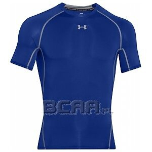 Under Armour Koszulka Męska Heatgear Armour Compression SS 1257468-400 niebieski 1/6