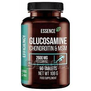 Essence Nutrition Glucosamine Chondroitin & MSM 90tab. 1/1