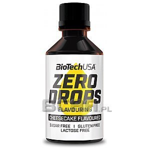 BioTech USA Zero Drops krople smakowe 50ml 1/1