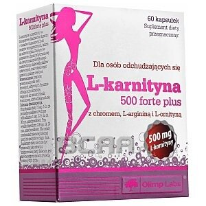 Olimp L-Karnityna 500 Forte Plus 60kaps. 1/1