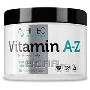 Hi Tec Vitamin A-Z 120tab. [promocja] 1/1