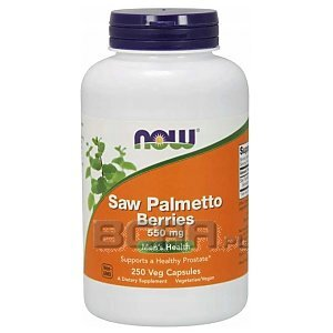Now Foods Saw Palmetto Berries 550mg 250vkaps. 1/1