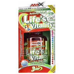 Amix Life's Vitality Active Stack 60tab. 1/1