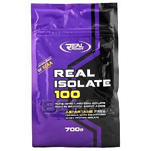 Real Pharm Real Isolate 100 strawberry 700g Wyprzedaż! 1/1