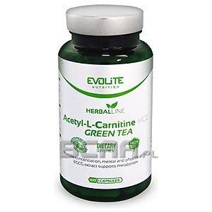 Evolite Acetyl-L-Carnitine HCL+ Green Tea 100kaps. 1/1
