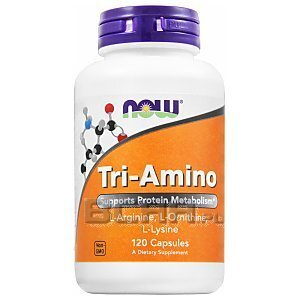 Now Foods Tri-Amino 120kaps. 1/2