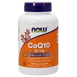 Now Foods CoQ10 30mg 60kaps. 1/1