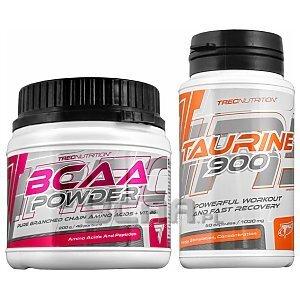 Trec BCAA Powder + Taurine 900 200g+60kaps 1/1