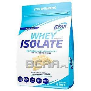 6Pak Nutrition Whey Isolate 1800g [promocja] 1/1