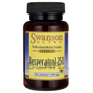 Swanson Resveratrol 250mg 30kaps. 1/1