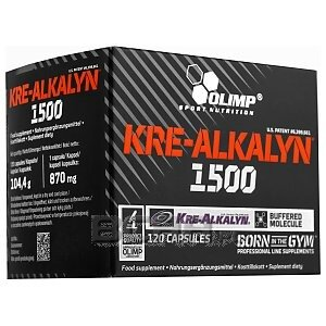 Olimp Kre-Alkalyn 1500 Mega Caps 120kaps. 1/1