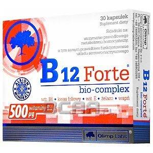 Olimp B12 Forte bio-complex 30kaps. 1/3