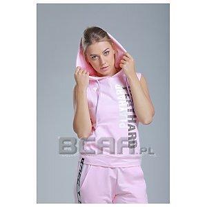 Trec Wear Boxer Hoodie TrecGirl 02 Stripe Pink 1/4