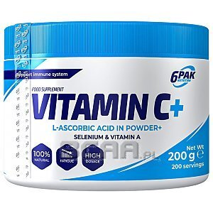 6Pak Nutrition Vitamin C Plus 200g 1/1