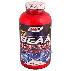 Amix BCAA Elite Rate 350kaps. 1/1