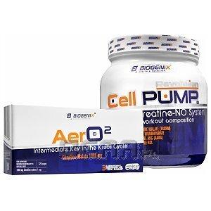 Biogenix AerO2 + Cell Pump Revolution 120kaps.+490g [promocja] 1/1