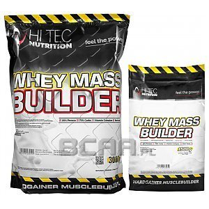 Hi Tec Whey Mass Builder 3000g+1500g [promocja] 1/1