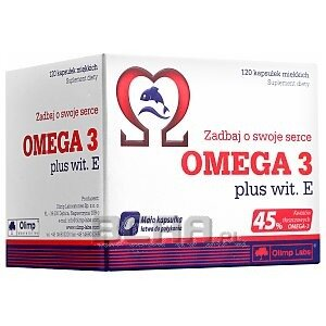 Olimp Omega 3 plus witamina E 120kaps. 1/1