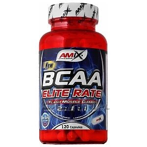 Amix BCAA Elite Rate 120kaps. 1/1