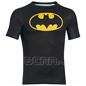 Under Armour Rashguard Męski Alter Ego Compression Shortsleeve Batman 1244399-006 czarny 1/5
