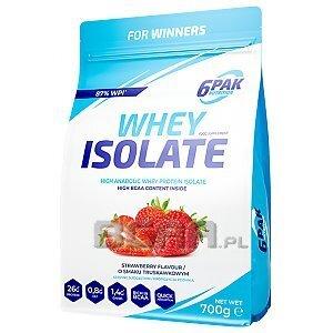 6Pak Nutrition Whey Isolate 700g 1/1
