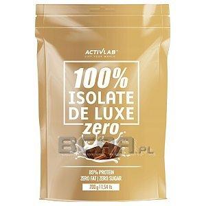 Activlab 100% Isolate De Luxe Zero 700g Wyprzedaż! 1/1