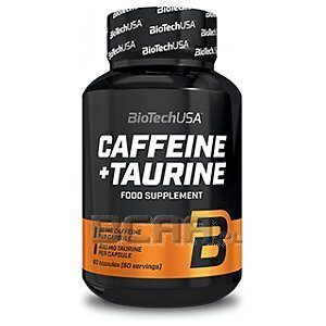 BioTech USA Caffeine + Taurine 60kaps. 1/1