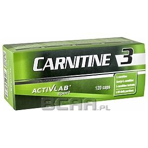 Activlab Carnitine 3 120kaps. 1/1