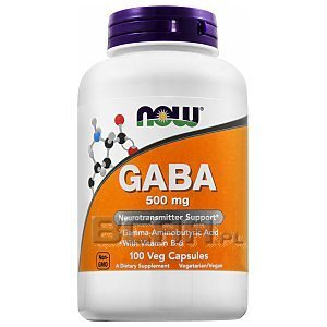 Now Foods GABA 500mg 100kaps. 1/2