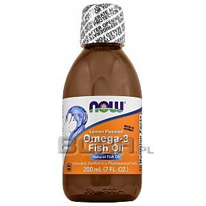 Now Foods Omega 3 Fish Oil 200ml 1/2