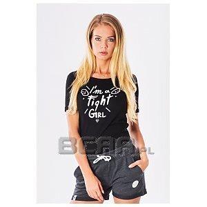 Trec Wear T-shirt TrecGirl FightGirl 005 Black 1/3