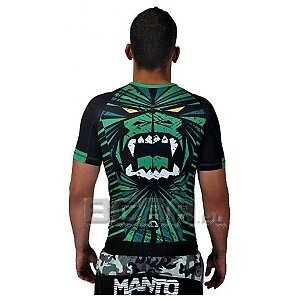 Manto Rashguard Beast Short Sleeve T-Shirt Zielony  1/1
