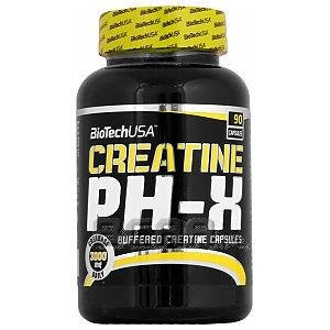 BioTech USA Creatine pH-X 90kaps. 1/1