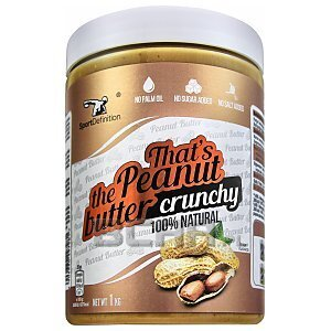 Sport Definition That's The Peanut Butter Crunchy 1000g 1/2