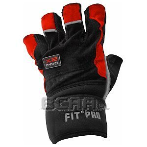 Power System Rękawice Treningowe Fit Pro X2 Pro czarno-czerwone 1/2